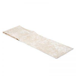 feestartikelen-velvet-tafelloper-ivory-white