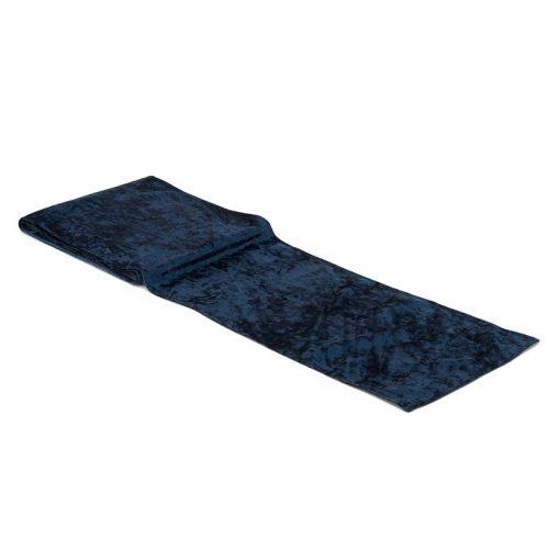 feestartikelen-velvet-tafelloper-navy-blue