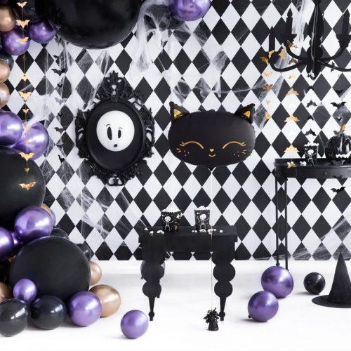 halloween-decoratie-folieballon-black-cat