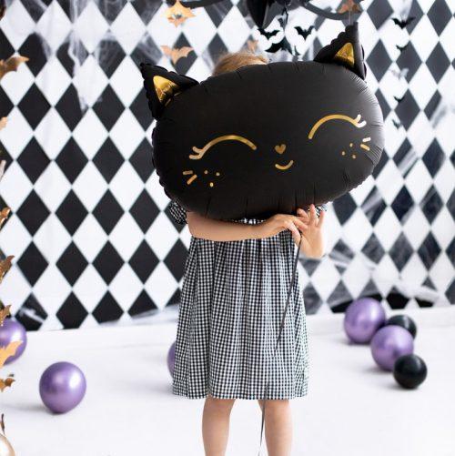 halloween-decoratie-folieballon-black-cat-7
