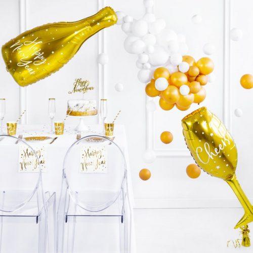 feestartikelen-folieballon-champagneglas-cheers-goud