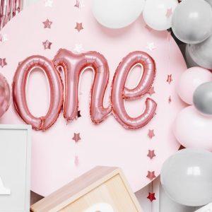 feestartikelen-folieballon-one-rosegoud-partydeco-4