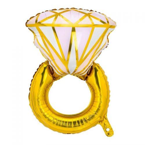 feestartikelen-folieballon-ring-pink-gold 2
