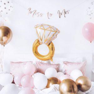 feestartikelen-folieballon-ring-pink-gold