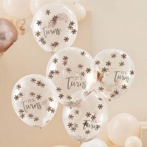 babyshower-versiering-confetti-ballonnen-its-twins-baby-in-bloom-2