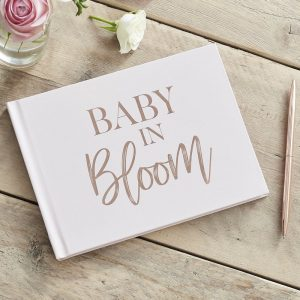 babyshower-versiering-gastenboek-babyshower-baby-in-bloom-2