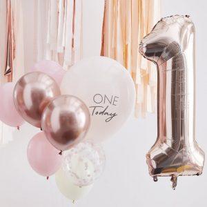 feestartikelen-ballonnen-mix-pink-rose-gold-one-today-mix-it-up