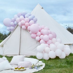 feestartikelen-ballonnenboog-purple-pink