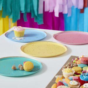 feestartikelen-papieren-bordjes-rainbow-dots-mix-it-up