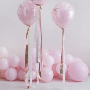 feestartikelen-streamers-voor-aan-ballonnen-pink-rose-gold-mix-it-up